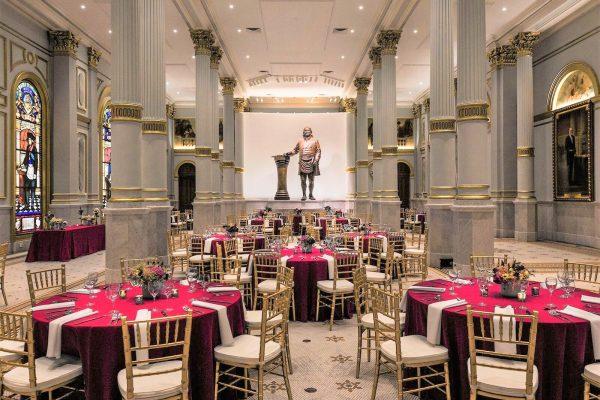 Grand Ballroom Burgundy 1