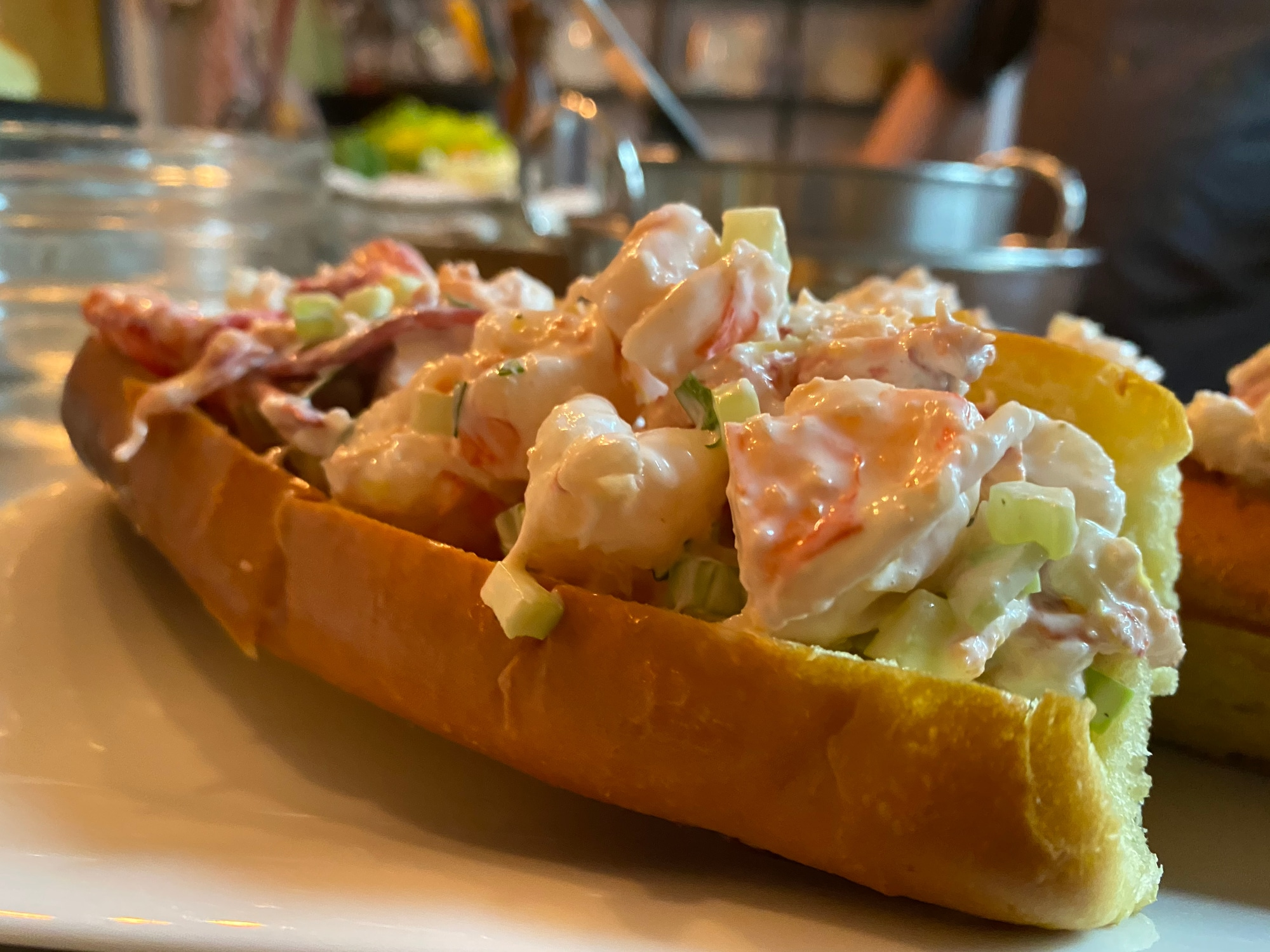 The Lobster Roll at The Garden Café