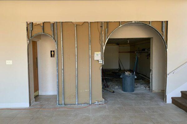 Construction Clothier Hall - 10