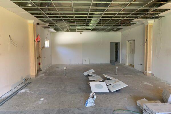 Construction Clothier Hall - 4