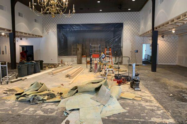 Construction Clothier Hall - 8