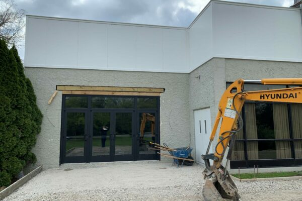 Construction Clothier Hall - Phase 2 - 6